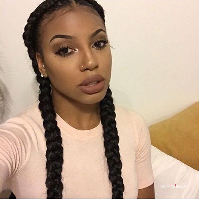 2 Goddess Braid Hairstyle Inspired Beauty