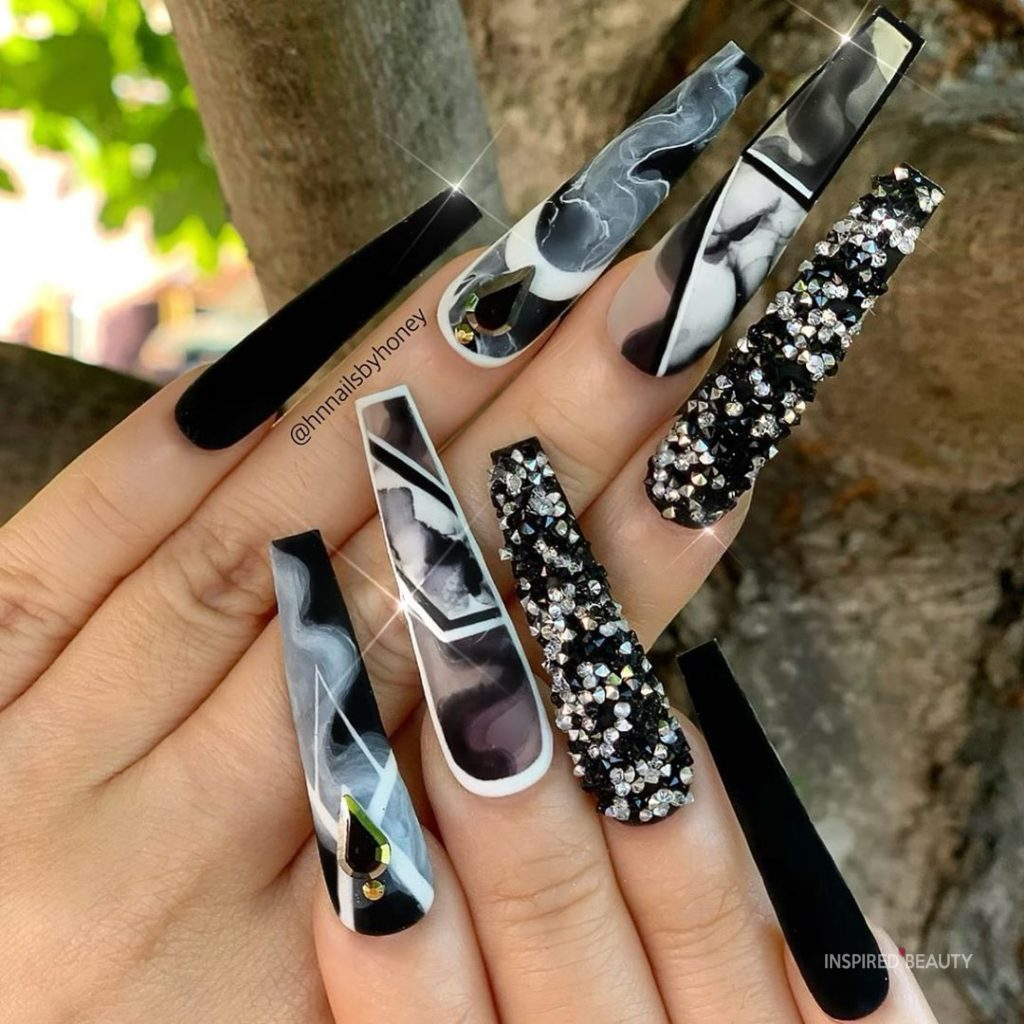 Gorgeous Long Acrylic Nails
