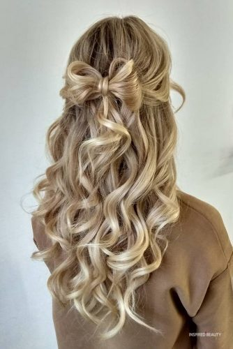 Half Up Half Down Wedding Hairstyles ( 32 Photos)