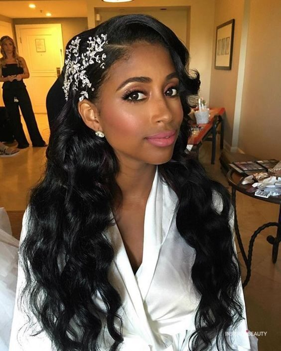 african american wedding hairstyles with weave