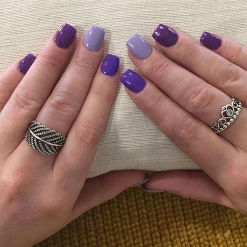 short acrylic nail ideas