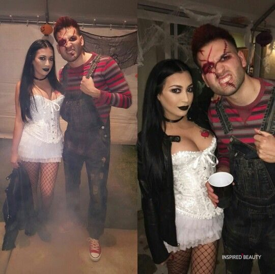 Chucky and Tiffany . Bride of Chucky h