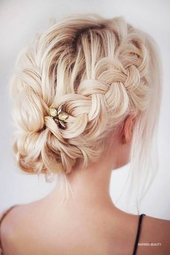 Updo Braid Hairstyle