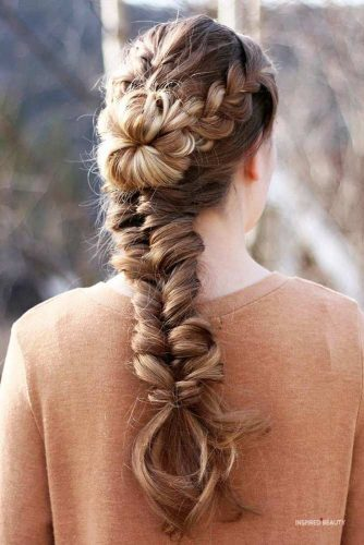 elegant braids for women