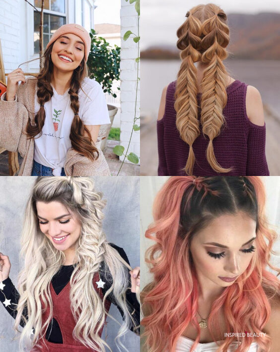 Braided Christmas Party Hairstyles