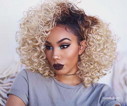 Best Hair Color For Dark Skin Women 32 Photos 2020 Inspired Beauty