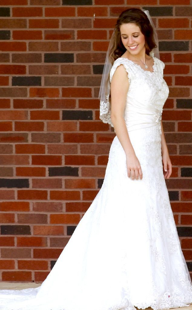 Jill Duggar Wedding Dress