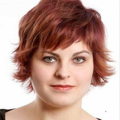 overweight hairstyles for round face