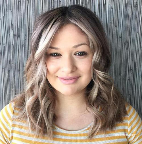 hairstyles for round faces for women