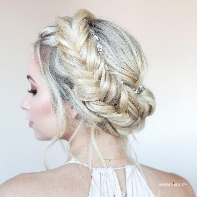 Wedding braid hairstyles