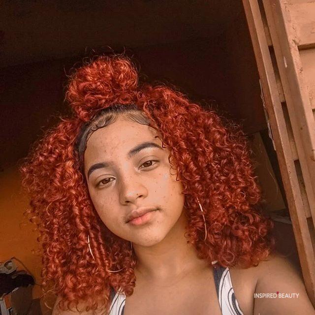 Curly hair girl hairstyles