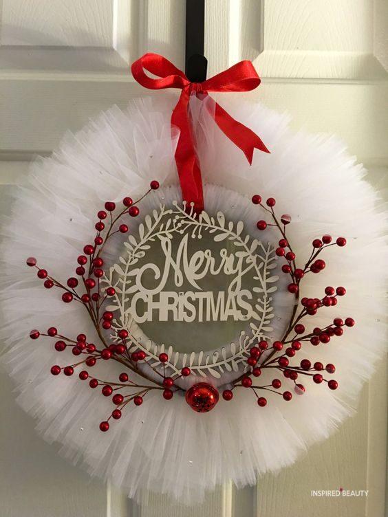 Christmas wreaths DYI