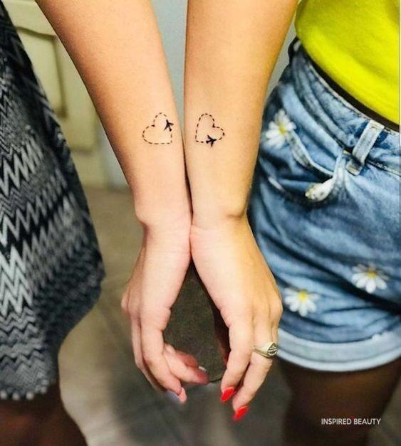 Heart Mini Tattoos Ideas