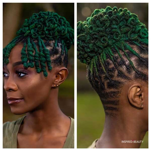 Hairstyle for black woman