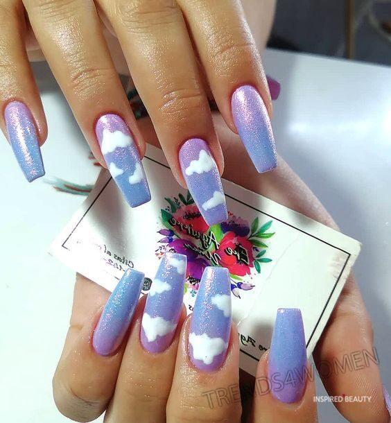 Pastel colors Nails