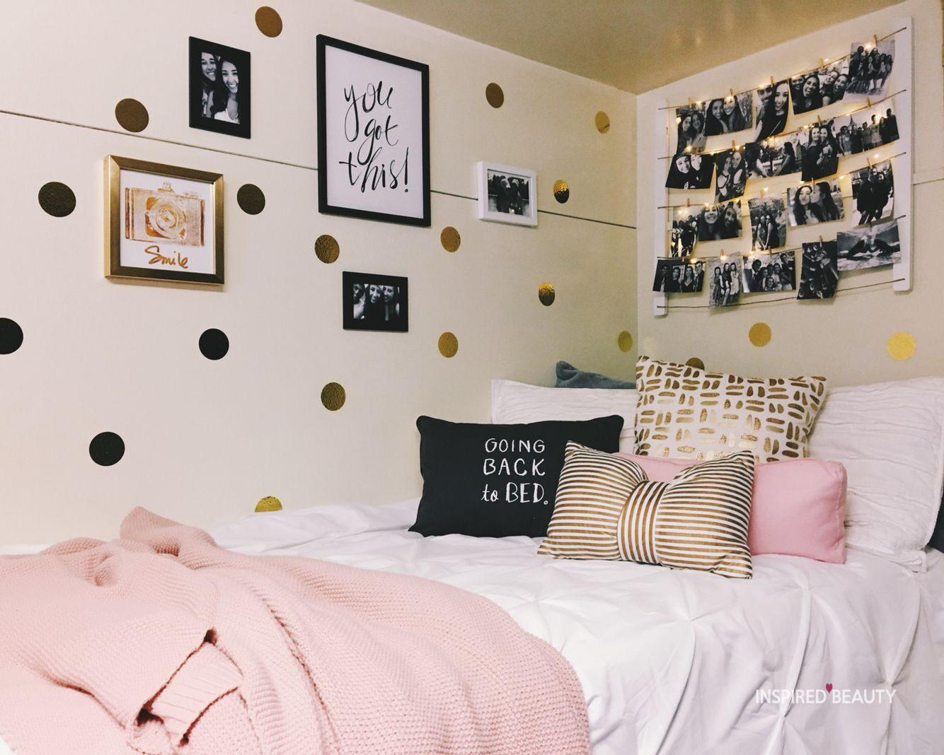 22 Best College Dorm Room Ideas For Girl - Inspired Beauty