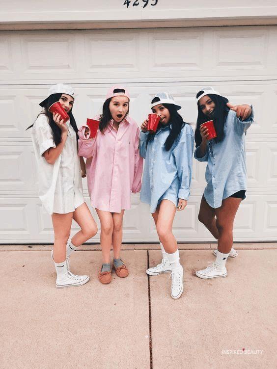 Easy Halloween Costumes Group