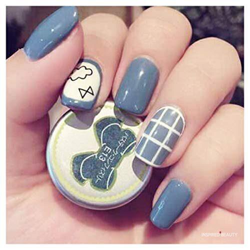 fake nails acrylic
