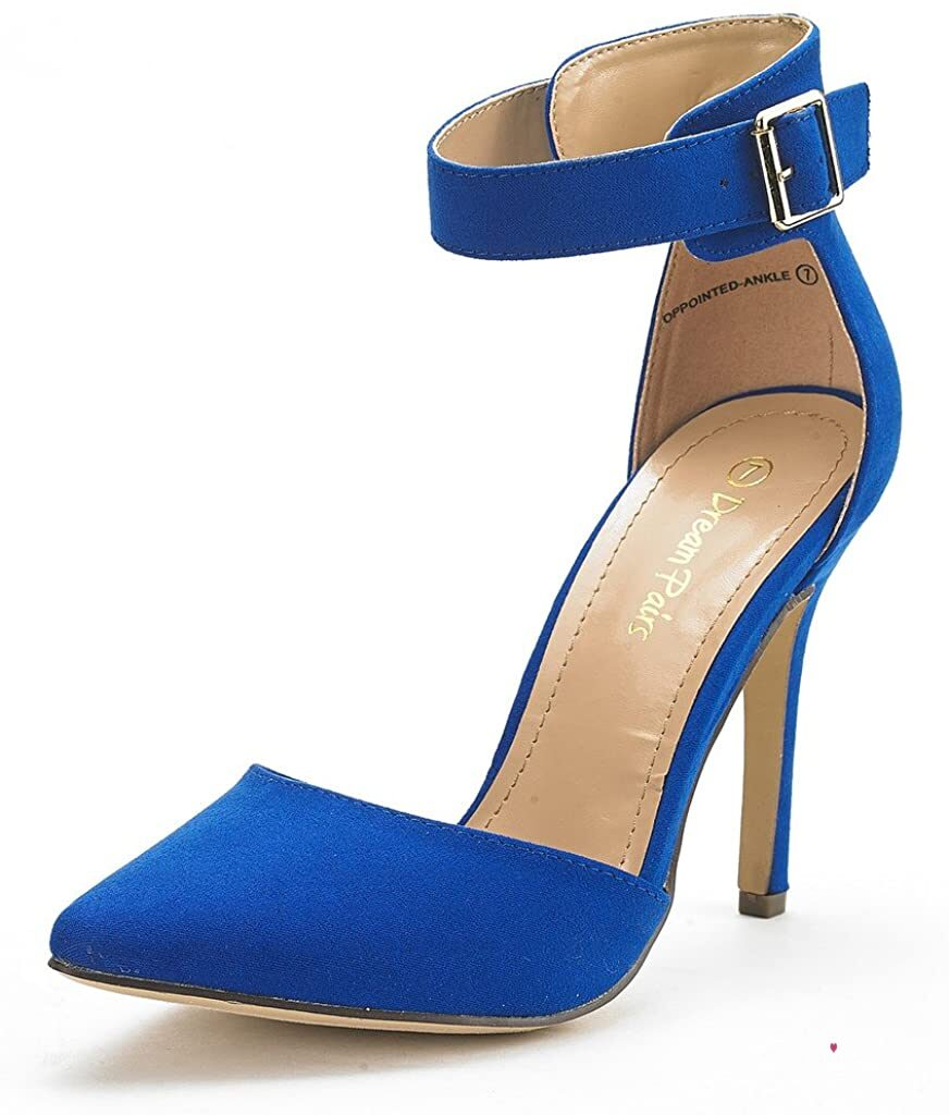 Ankle Strap D'Orsay High Heel Stiletto