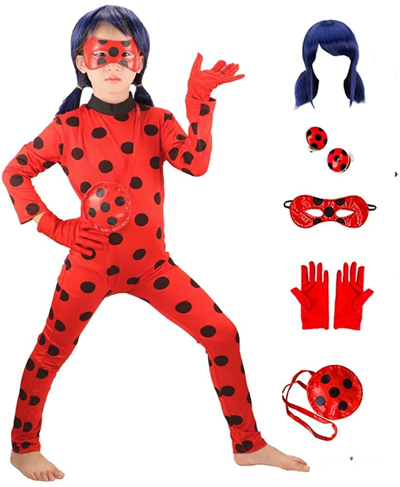 Girls Costume Dress Up Cosplay Jumpsuit