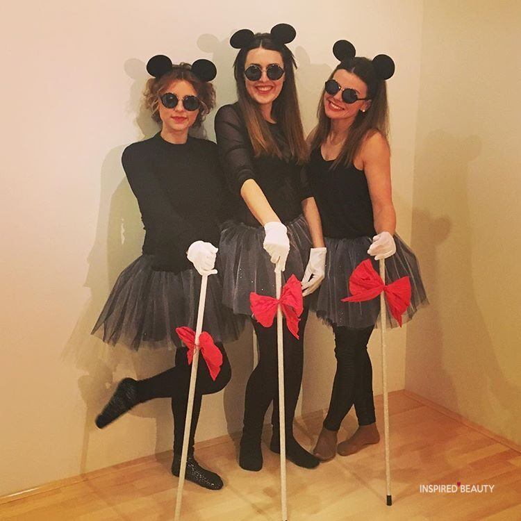 Halloween costumes for 3 friends blind mice