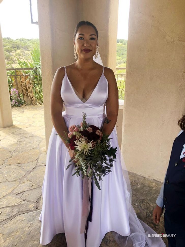 Bargain wedding dress