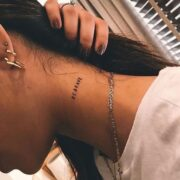 minimalist tattoos with meaning