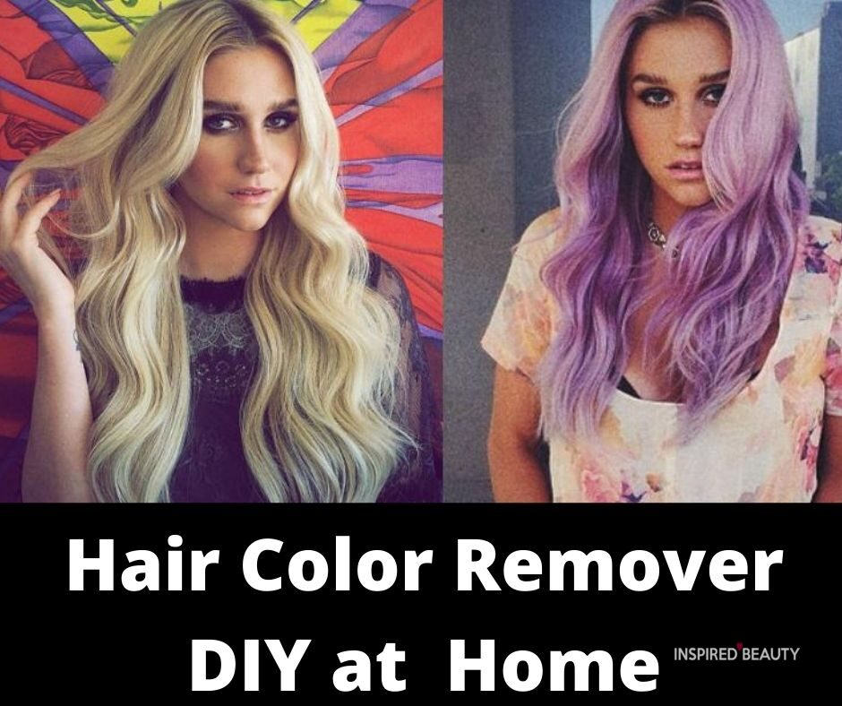 Hair Color Remover DIY at Home