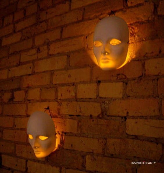 mask Scary Halloween Decorations indoor ideas