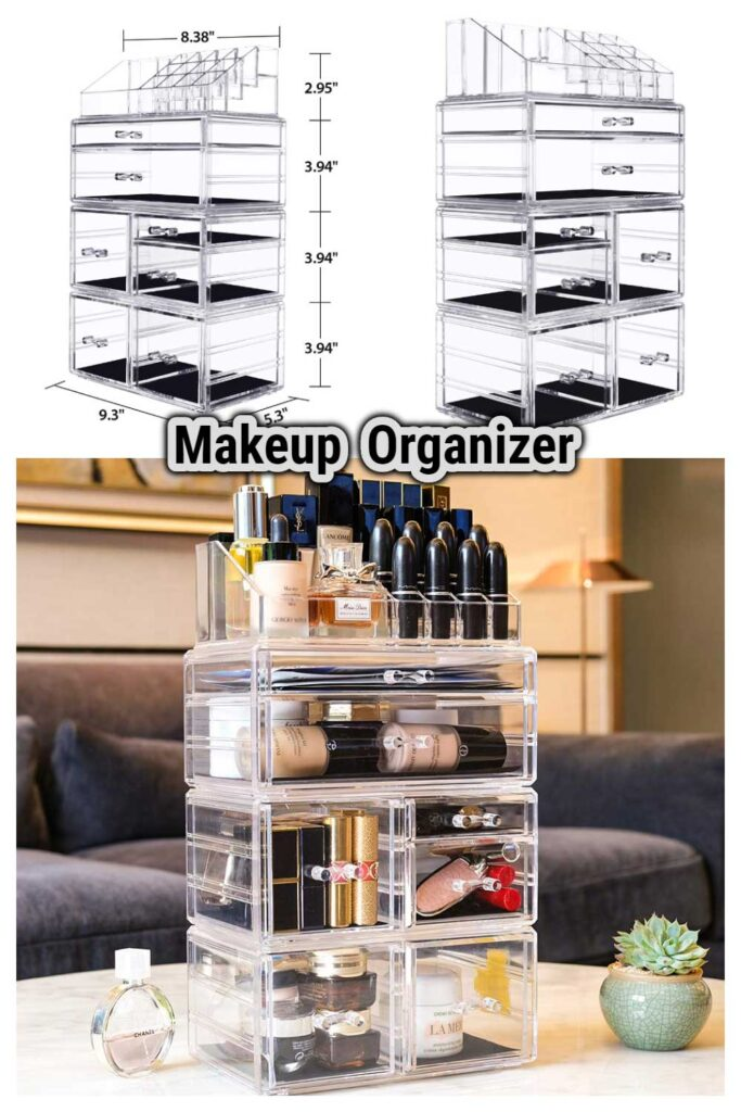 Makeup Organizer with Drawers