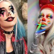 clown halloween makeup looks