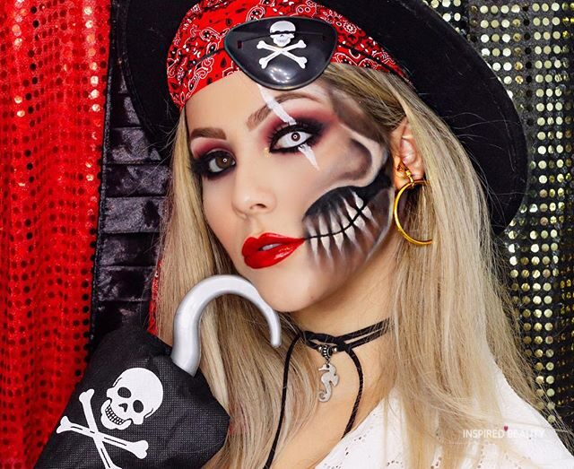 Pirate Halloween Makeup