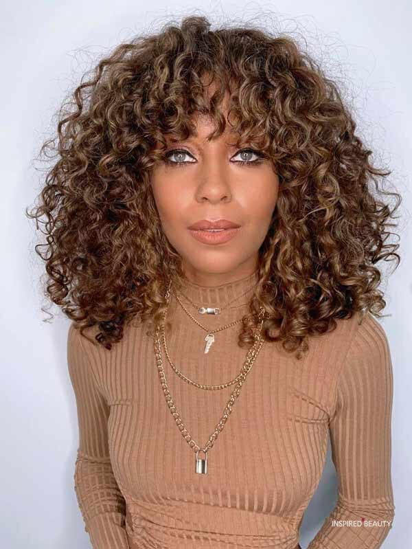 curly Short Fall Hair Trends