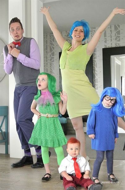 inside out Disney Halloween costume