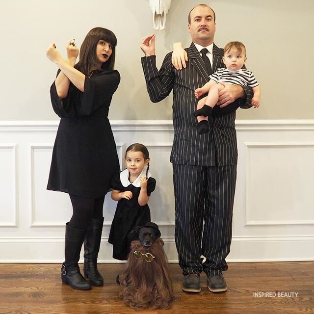 Addams Family Halloween costumes