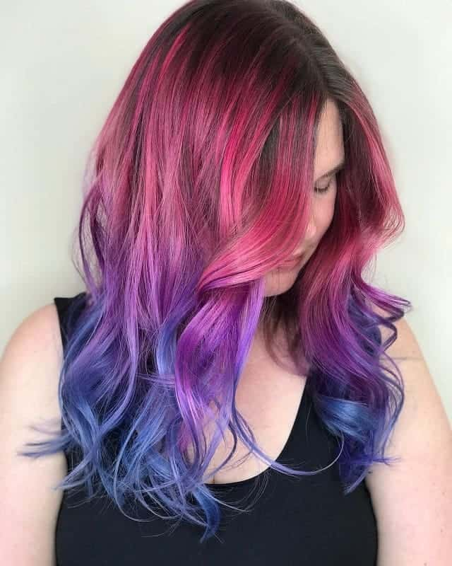 beautiful Ombre hairstyle look