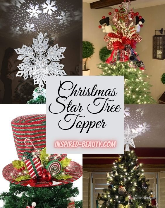 Christmas Tree topper decoration ideas