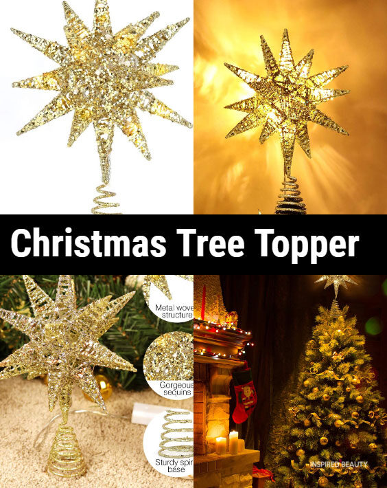 Christmas Star Tree Topper
