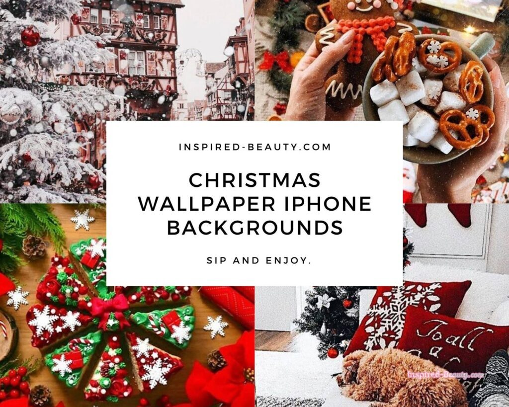 23 free aesthetic christmas wallpaper iphone backgrounds inspired beauty inspired beauty