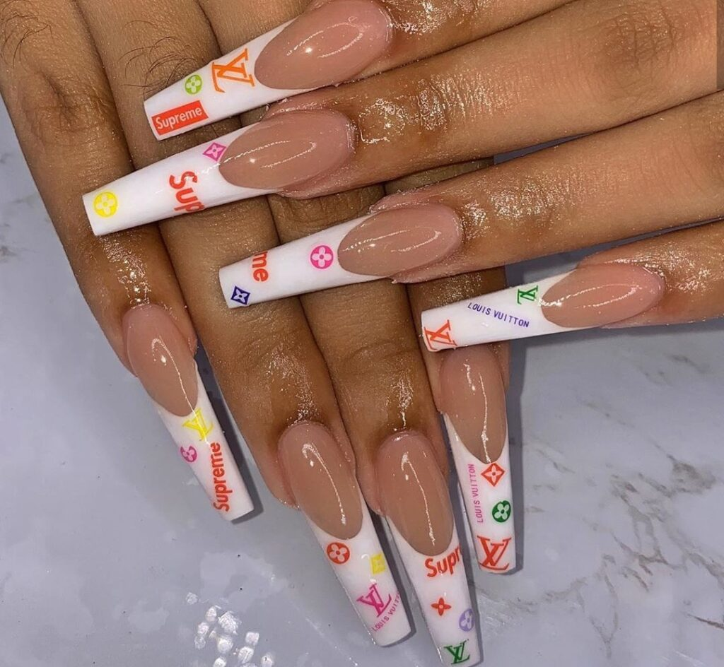 LV coffin nails