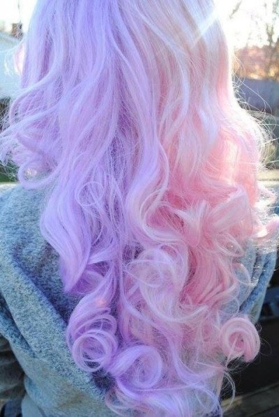 Really light pink pastel look very beautiful inspired-beauty.com hair colors