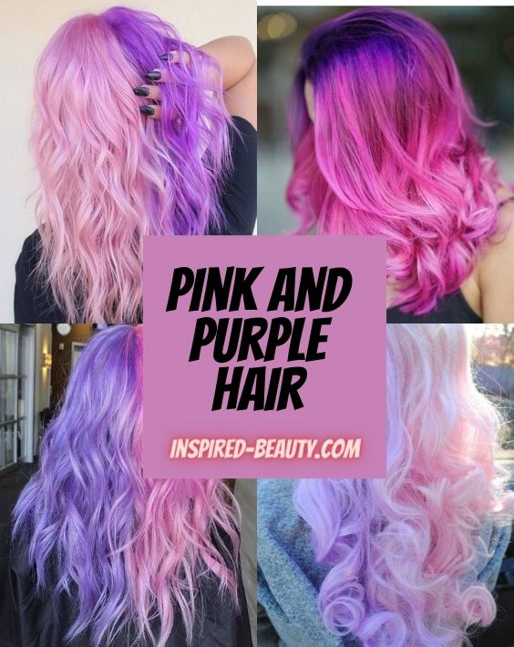 Pink and Purple Hair multi image