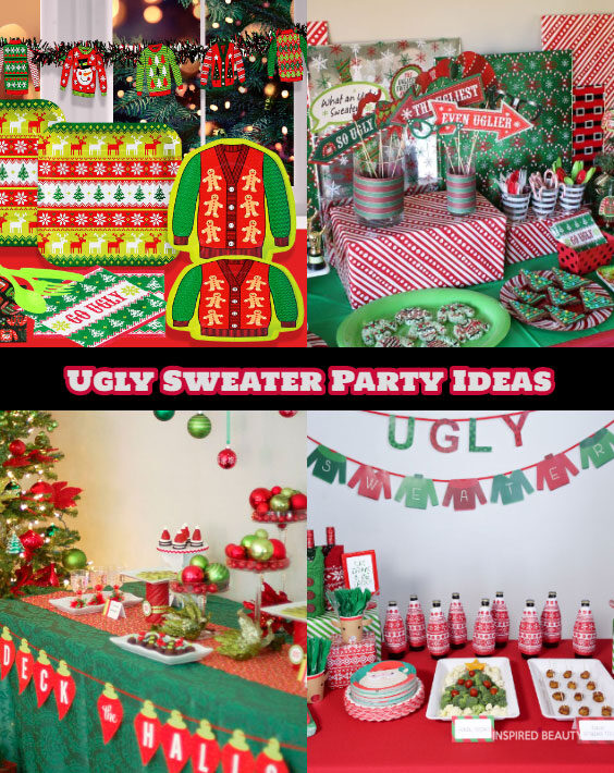 ugly sweater decoration ideas