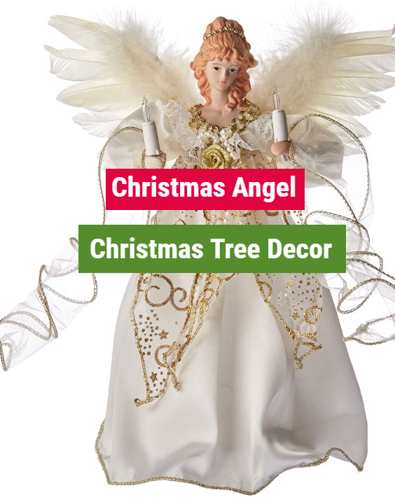 christmas angel tree decoration ideas